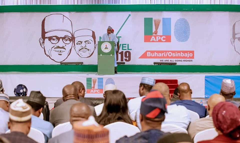 2019: Don't set Nigeria ablaze, Buhari urges politicians