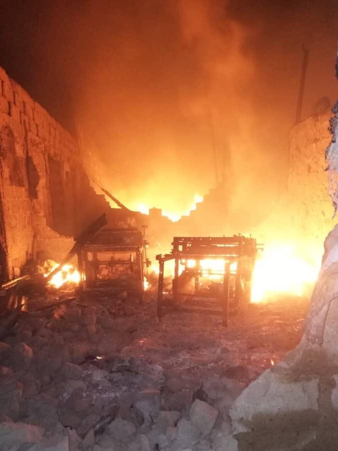 Fire razes polythene factories in Onitsha, 22 shops affected