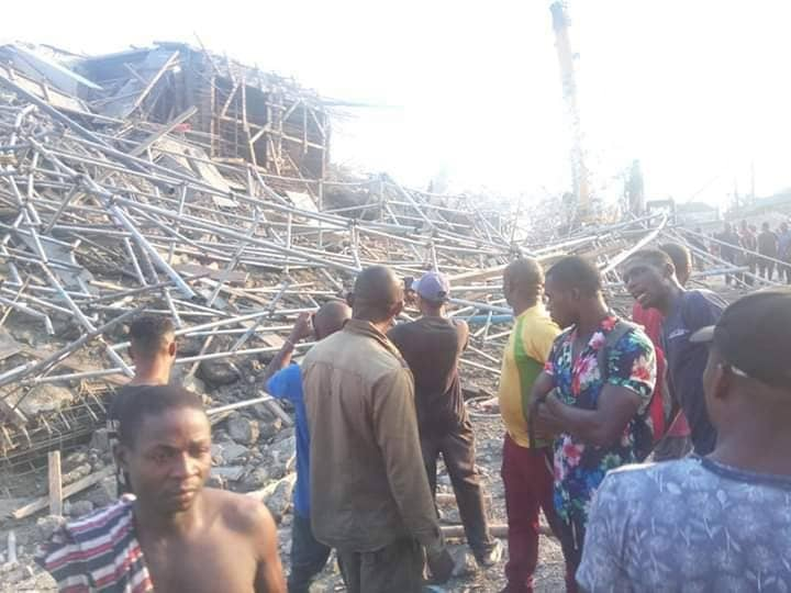 Image result for Updated: 11 persons rescued from collapsed seven-storey building - Rivers govt