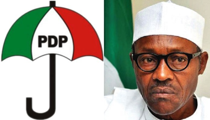 PDP to Buhari: All corrupt politicians seeking presidential cover ...