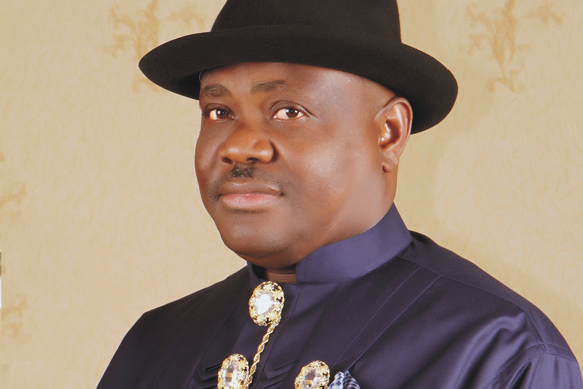 Gov. Nyesom Wike of Rivers State. Photo: The Sun Nigeria