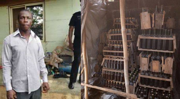 Police uncover fake wine factory in Lagos, arrest owner