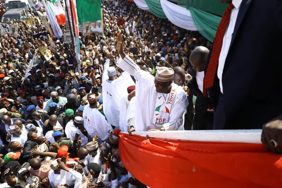PDP flags off presidential campaign, as discontents, old ways dot return bid