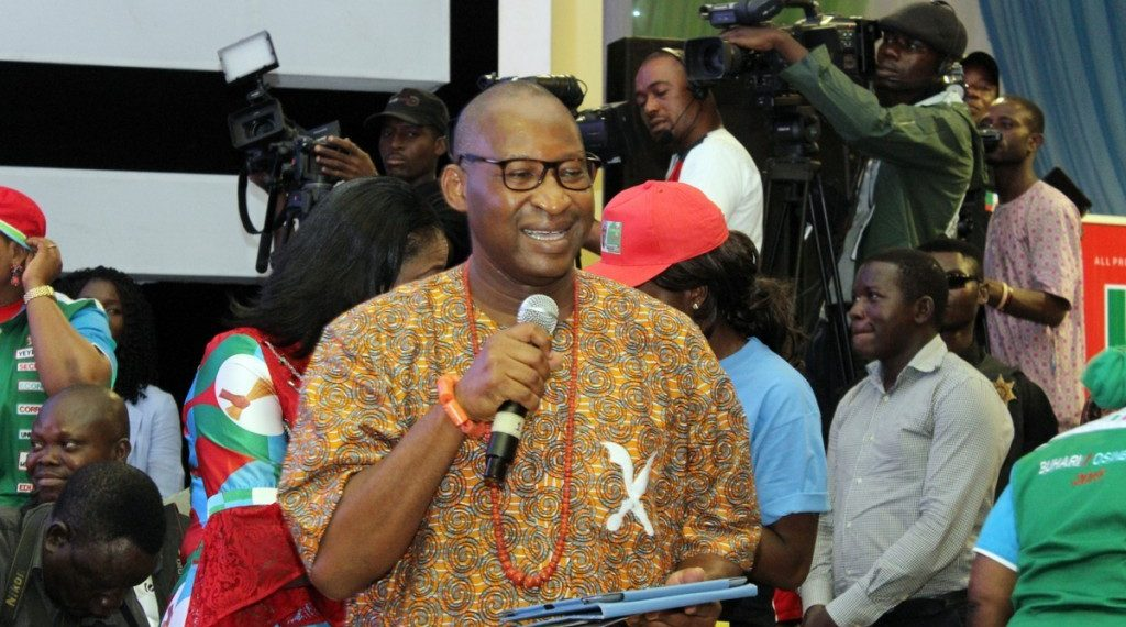 13 political parties endorse Obahiagbon for Senate