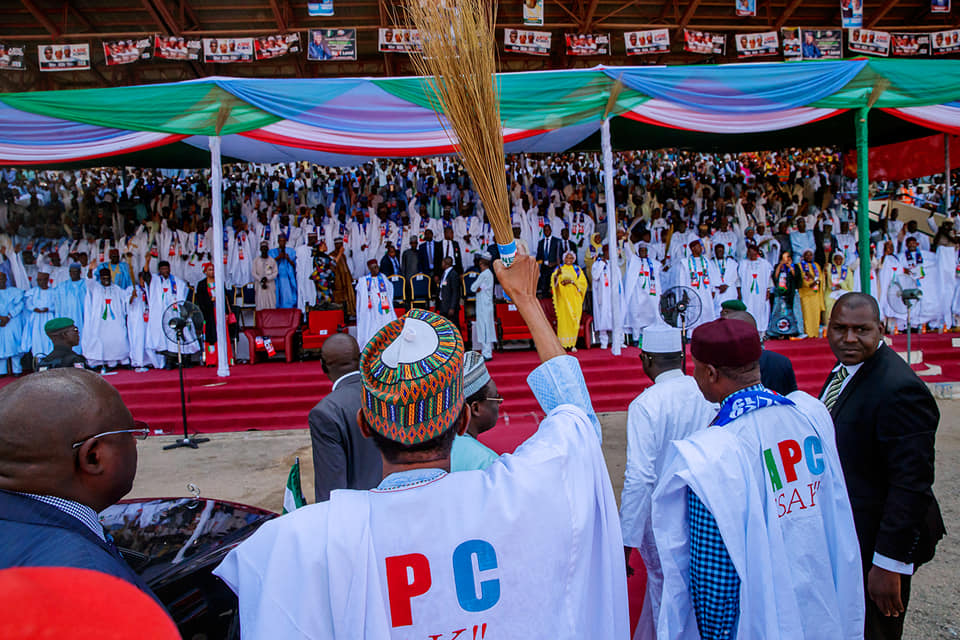 YPM warns against sabotage of Buhari's re-election