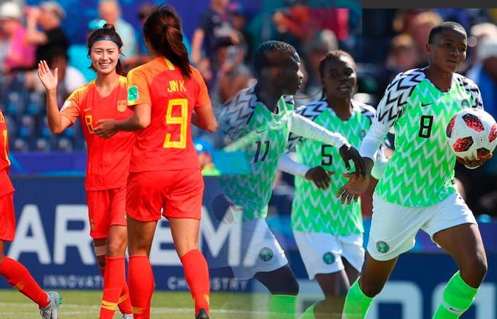 Four-Nation Tourney: China tames Super Falcons in pre-World Cup friendly