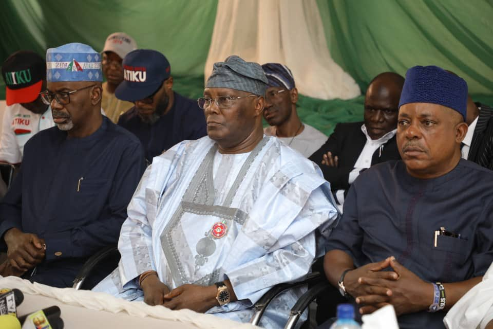 Atiku, Secondus canvass for votes in S'East