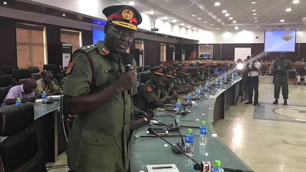Buratai cautions soldiers on loyalty