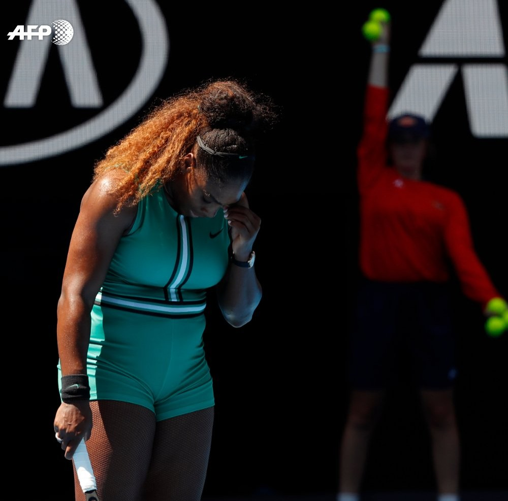 Serena Williams makes no excuses for her shock Australian Open collapse