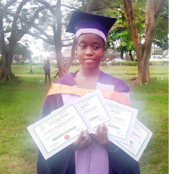 EDUCATION: UNIBEN  best graduating student reveals secrets of her success.