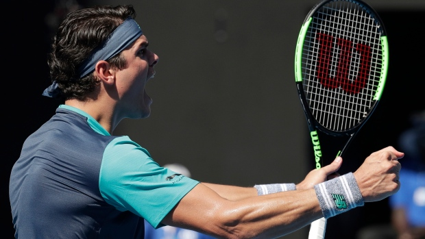 Raonic sweeps aside angry Zverev to reach Australian Open quarters