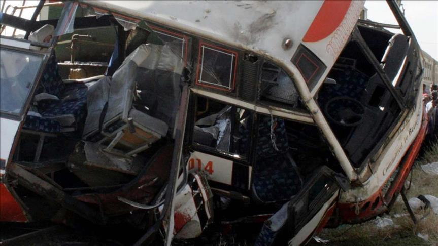 18 killed after bus overturned in western Ethiopia