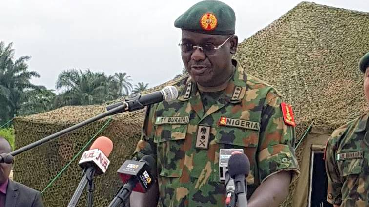 Borno encounter: Buratai visits wounded soldiers
