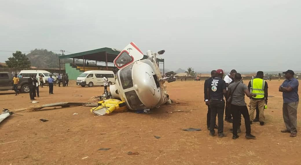How Osibanjo survived chopper crash in Kogi