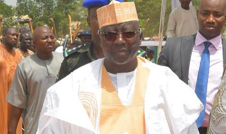 Al-Makura presents staff of office to ex-minister, Usman-Jibril