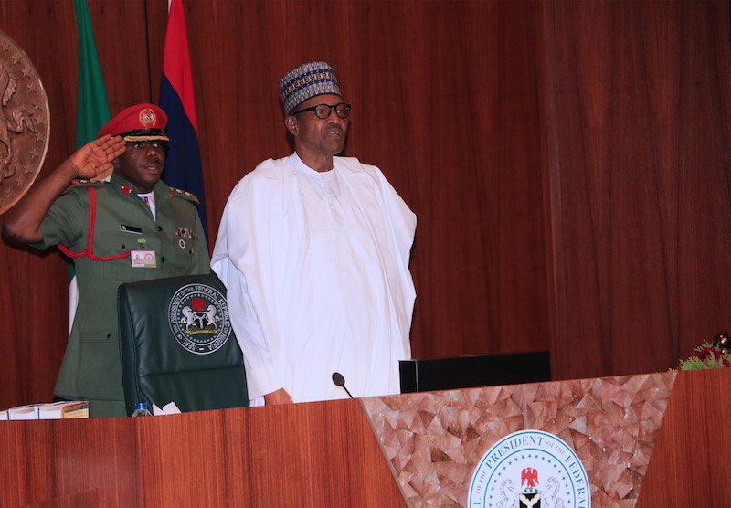 Buhari swears in 8 perm secs with charge to clean up system's rot