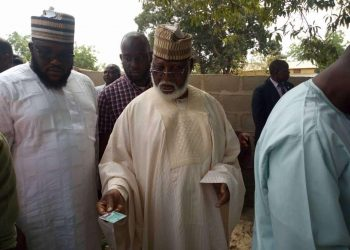 Abdulsalami, Gov Bello express satisfaction over turnout of voters