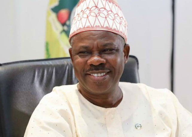 Arms surrender allegation laughable –Amosun