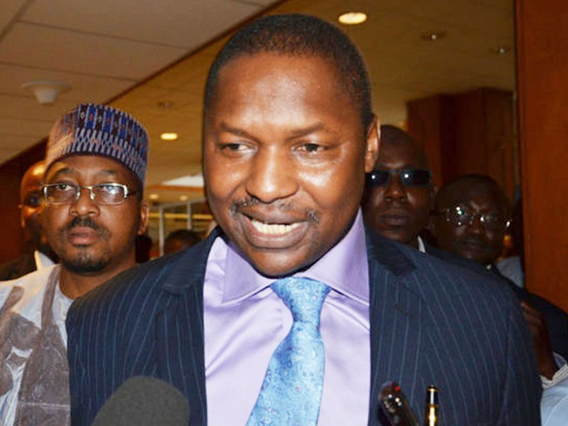 Malami steps down as Nigeria's justice minister, gives details of loots recovered