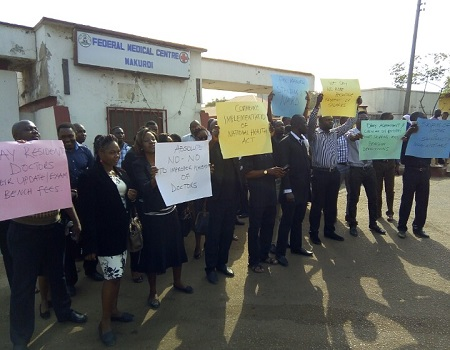 FMC Makurdi casual workers protest non-payment of wages