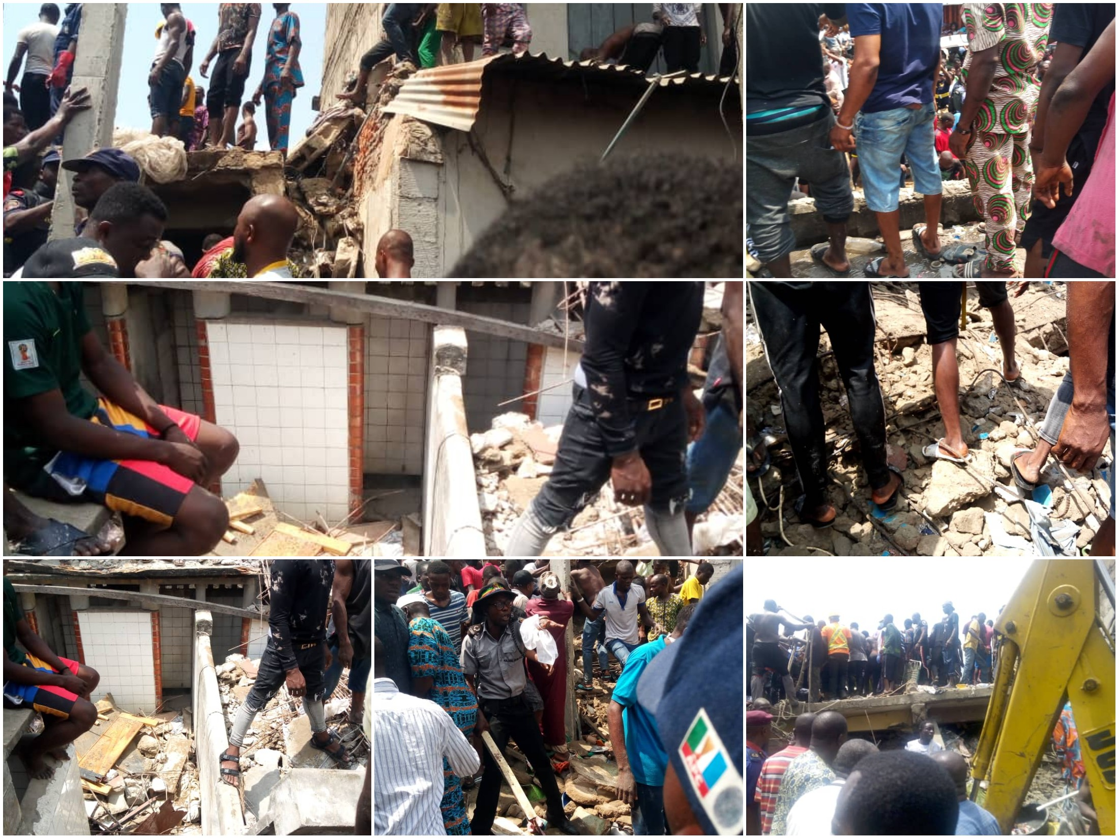 Building Collapses in Lagos, Pupils Trapped in Rubble