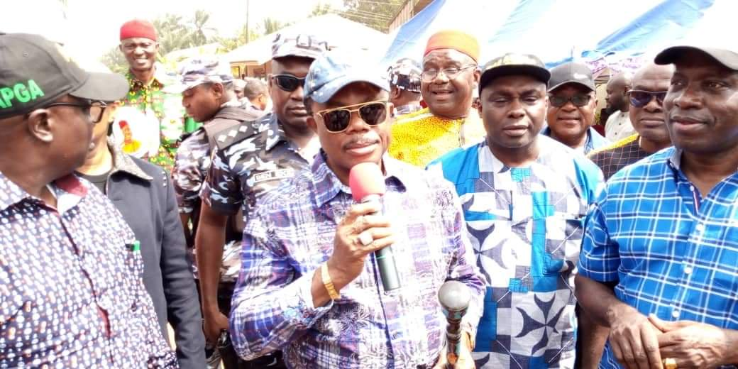 Obiano reviews 5 years of governance, warns aides to perform or be sacked