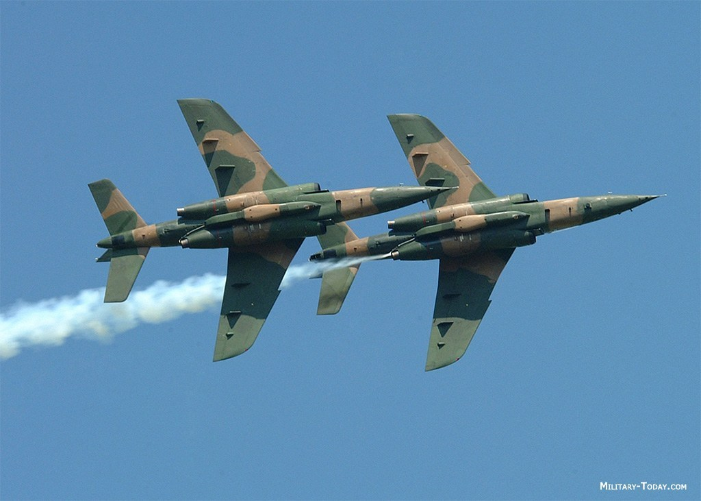 NAF fighter jets bombard more terrorists bases
