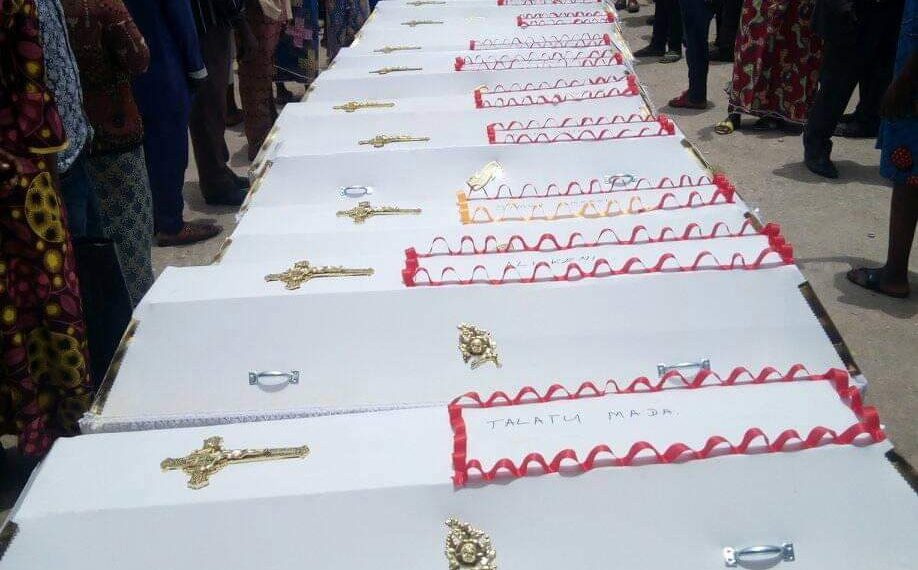 Tears flow as Nasarawa holds mass burial for 16 killed by herdsmen