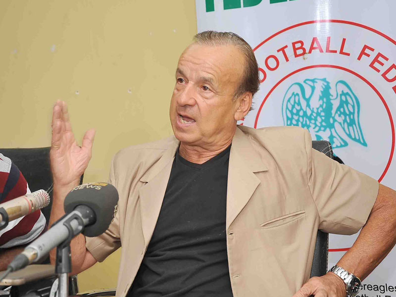 … Rohr injects Eagles squad with 7 players
