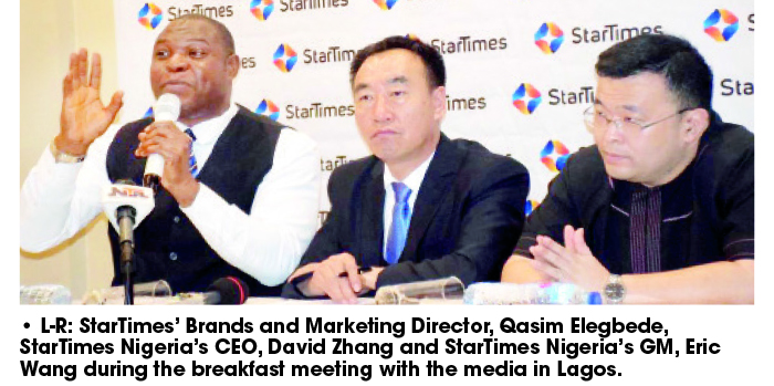 StarTimes has invested over $220m in Nigeria -Zhang