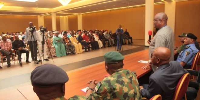 Wike moves to tackle insecurity in Ogoni