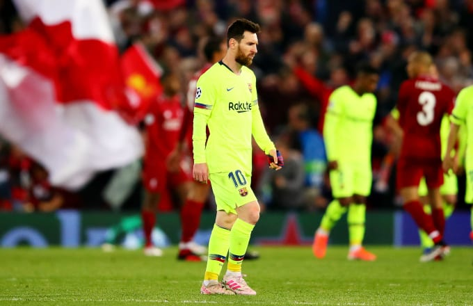 Barcelona haunted by ghosts of Rome in `nightmare' loss to Liverpool — Pique