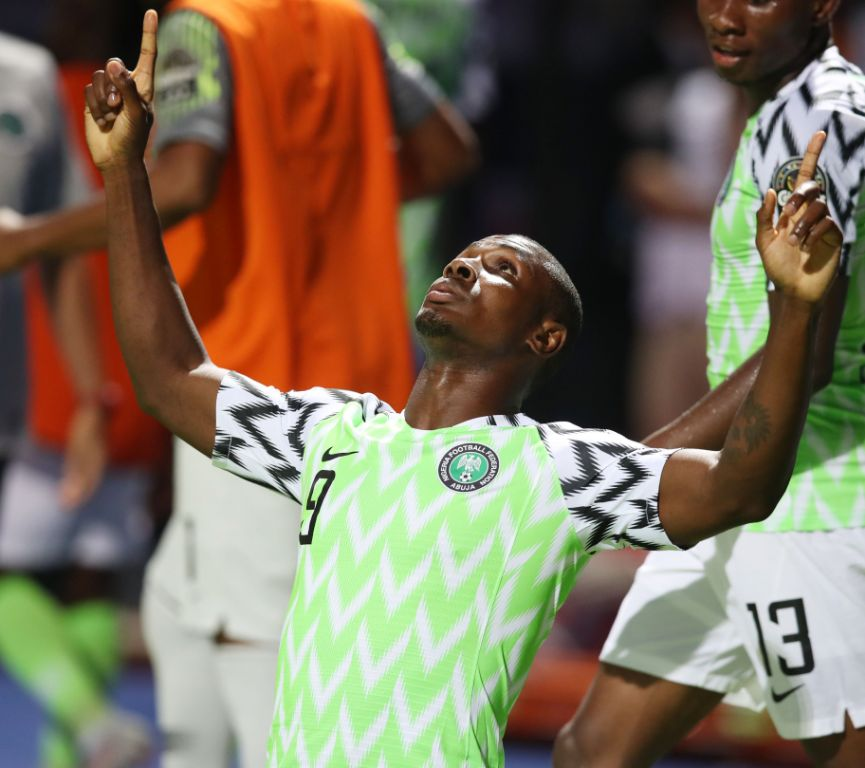 CAF names Ighalo in AFCON 2019 team of tournament