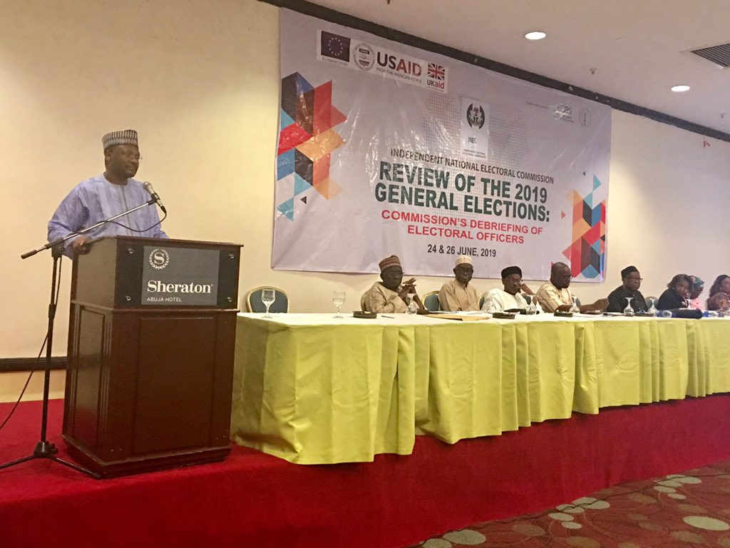 INEC chairman rates self best since 1999