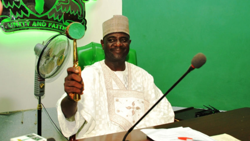 Garba re-elected for 3rd time in 4 yrs as Speaker, Jigawa Assemby