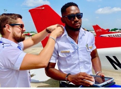 Miracle, BBNaija winner now certified Pilot