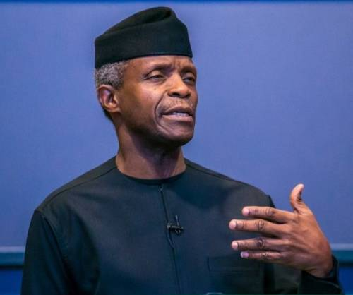 Defend Nigeria with your lives - Osinbajo tells military