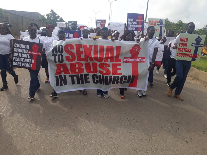 Rape allegation: Holy war at COZA church - Protesters, worshippers fight against pastor