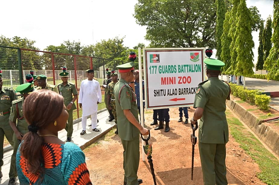177 Guards Battalion construct social amenities for military families