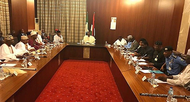 Nigeria's security architecture will be restructured, Buhari assures South Wes