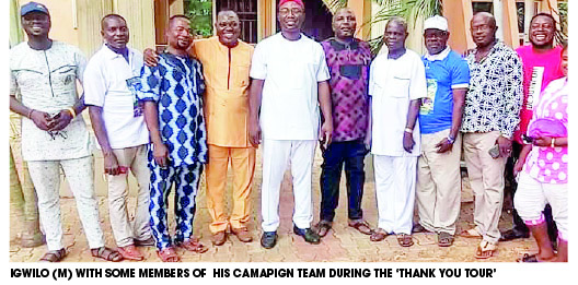 Election loser goes on thank you tour in Anambra