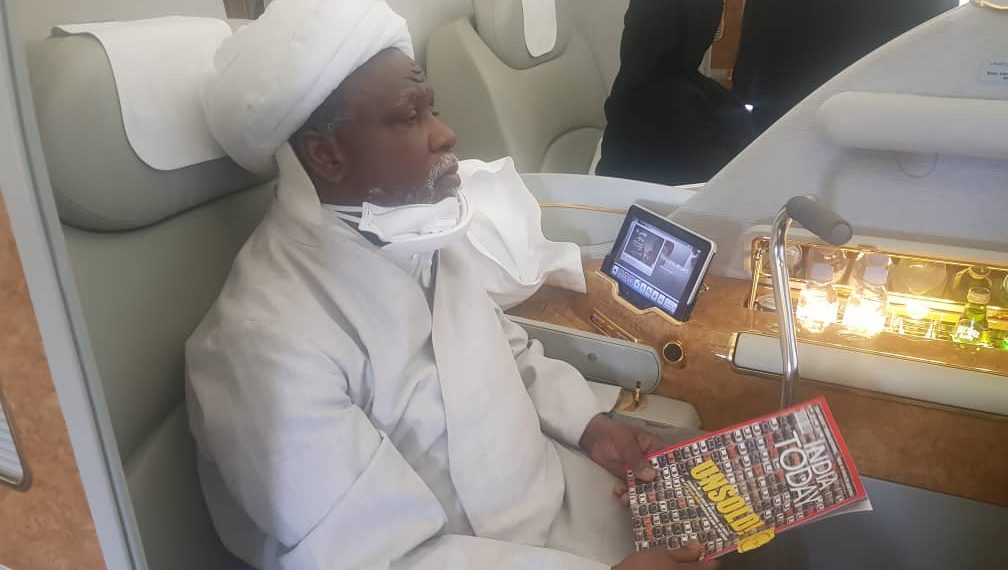 El-Zakzaky back from India without treatment