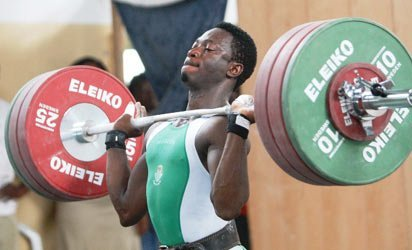 Image result for nigeria's weightlifting at the 12th all african games