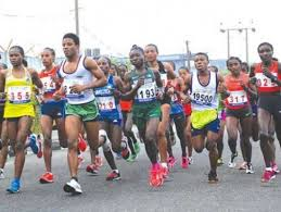 National anti-corruption marathon:  2000 athletes jostle for million naira cash price in Abuja