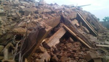 Another building collapses in Lagos, four rescued