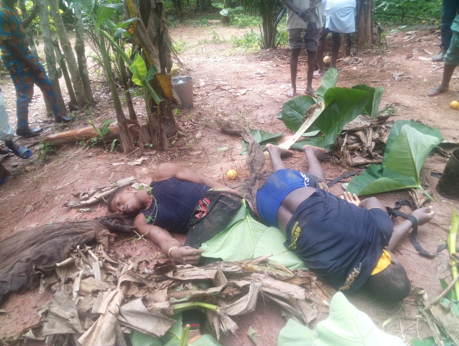 Image result for picture of ekiti well where two labourers died while trying to retrieve phone