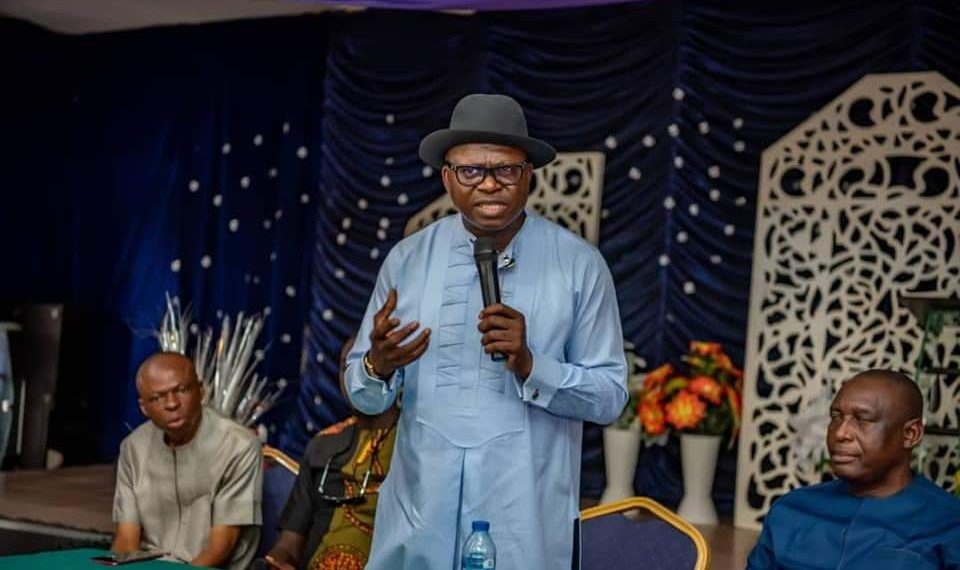 Bayelsa guber: Alaibe holds consultative meeting, denies defection from PDP