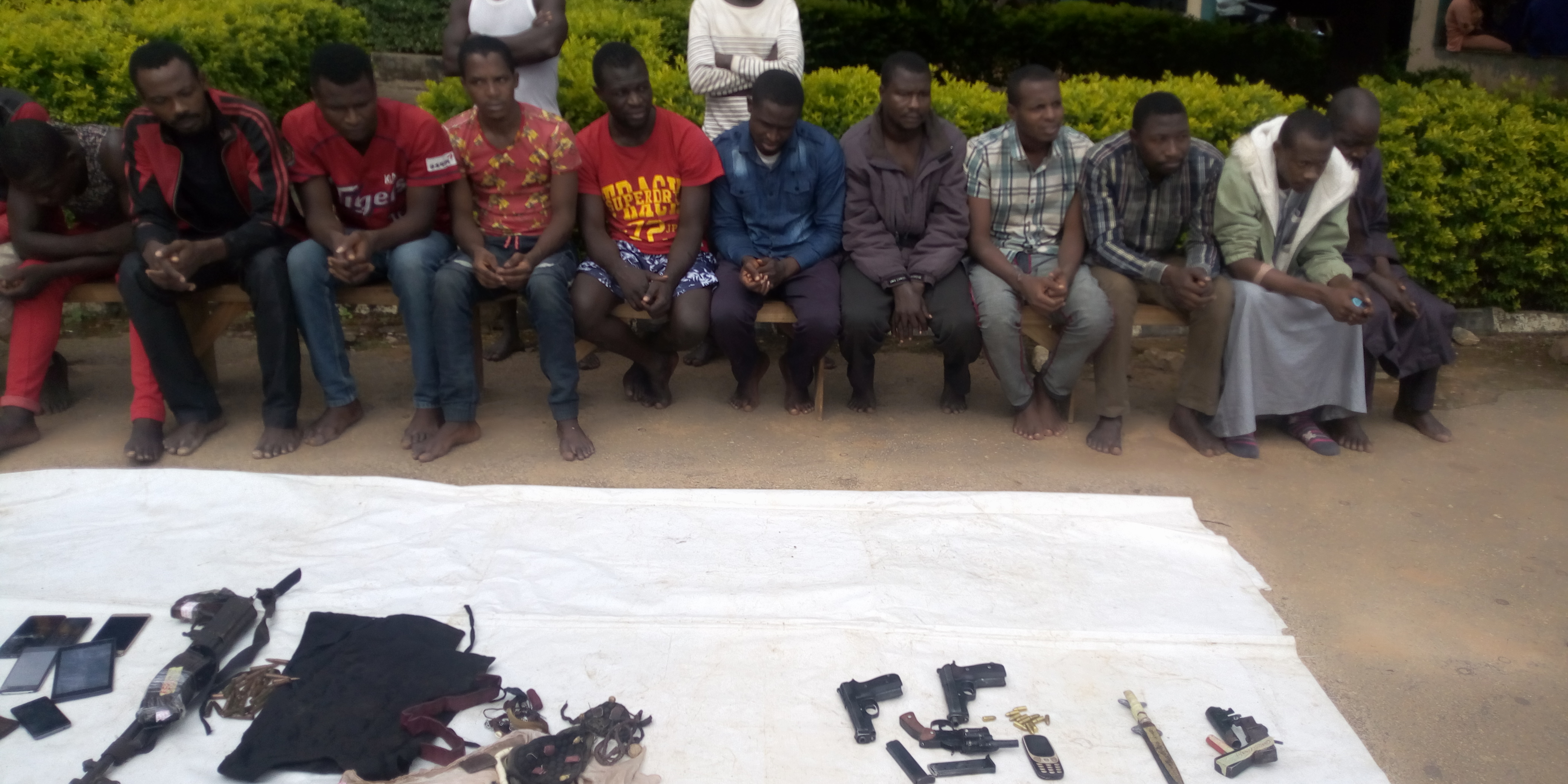 Police arrest 17 kidnappers, POS robbers in Plateau