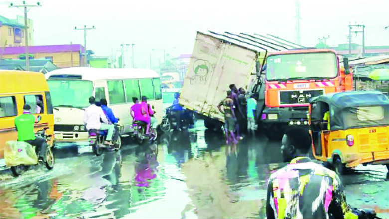Week of hell: Lagos locked down by heavy gridlock after rains