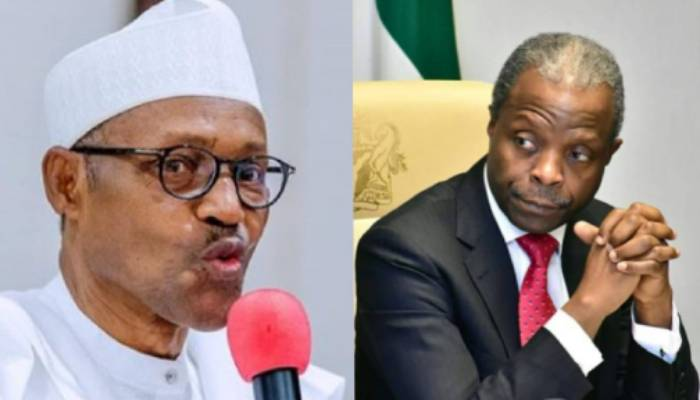 Why Buhari sacked 35 Osinbajo's aides –Presidency